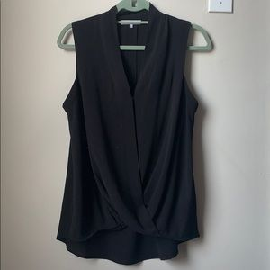Ro&De black sleeveless blouse
